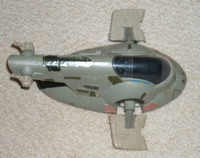 Slave I, Top View